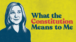 WHAT THE CONSTITUTION MEANS TO ME Begins September 30 At The Guthrie