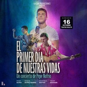 Pepe Nufrio debuta en la Gran Vía con EL PRIMER DÍA DE NUESTRAS VIDAS