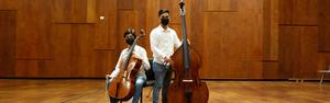 C.C. Dúo de la Orquesta Sinfónica Nacional Juvenil Bicentenario Performs a Café Concierto