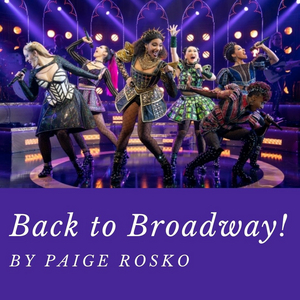 Student Blog: Back to Broadway