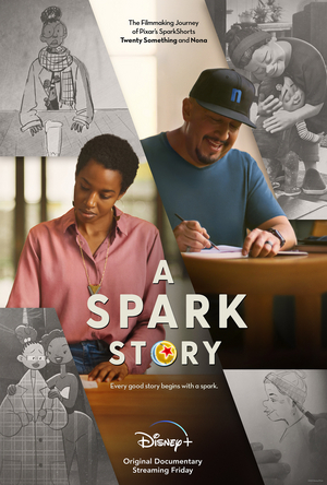 VIDEO: Pixar & Disney+ Share A SPARK STORY Documentary Trailer