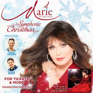 Marie Osmond Announces A SYMPHONIC CHRISTMAS Tour
