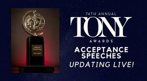 Recap the 2020 Tony Awards Acceptance Speeches