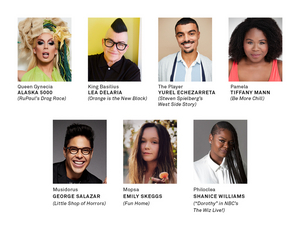 Alaska 5000, Lea DeLaria, George Salazar & More to Star in HEAD OVER HEELS at Pasadena Playhouse
