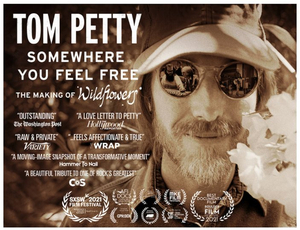 TOM PETTY: SOMEWHERE YOU FEEL FREE Documentary to be Released in Theaters; Watch a Clip