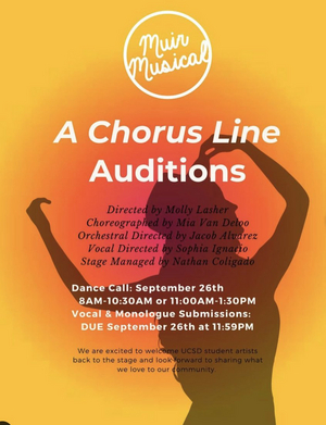 Student Blog: Choreographing A Chorus Line!