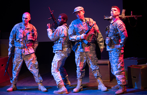 BWW Review: WAR IN PIECES at Firehouse Theatre