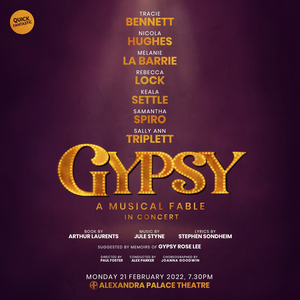 GYPSY Concert Production is Coming to Alexandra Palace Theatre, With Seven Women Sharing the Role of Rose