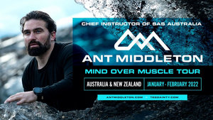 Ant Middleton Will Embark on the Mind Over Muscle Tour Next Year