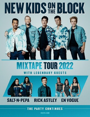 New Kids On The Block Announce THE MIXTAPE TOUR Coming in 2022