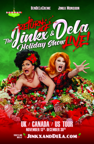 BenDeLaCreme and Jinkx Monsoon Announce New Dates for Holiday Tour