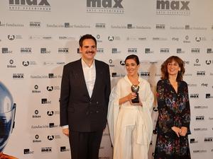 ANTOINE y CON LO BIEN QUE ESTÁBAMOS galardonados en los Premios Max