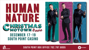 Human Nature Returns to Las Vegas in December With CHRISTMAS, MOTOWN & MORE at South Point Casino