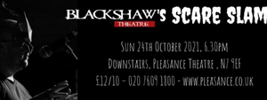 Blackshaw Theatre Company and Merely Roleplayers to Return to the London Horror Festival