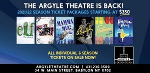 The Argyle Theatre Announces 2021-22 Season