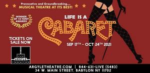 Don't Miss CABARET Live at The Argyle Theatre