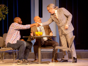 BWW Review: BLUE/ORANGE at Tower Grove Abbey