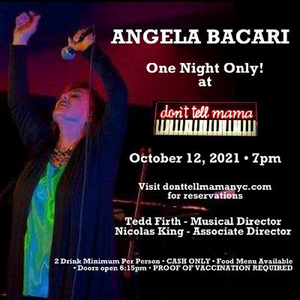 BWW Review: Angela Bacari Brings Some Real Razzle-Dazzle to ONE NIGHT ONLY! at Don't Tell Mama