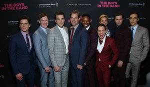 Jim Parsons, Zachary Quinto, and THE BOYS IN THE BAND Cast Kickoff GLSEN RESPECT EVERYWHERE Week
