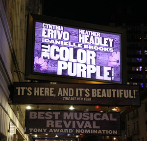 THE COLOR PURPLE Movie Musical Set for 2023 Release