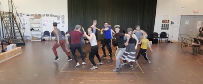 VIDEO: Go Inside Rehearsals For NEWSIES At Arena Stage