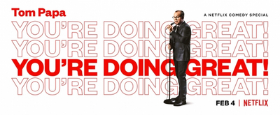 VIDEO: Netflix Releases the Trailer for TOM PAPA: YOU'RE DOING GREAT!