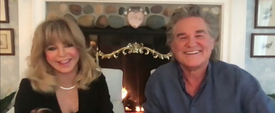 VIDEO: Goldie Hawn & Kurt Russell Talk About Making Albums on THE LATE LATE SHOW