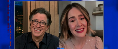 VIDEO: Sarah Paulson Talks About Her Love of Performing for an Audience on THE LATE SHOW