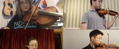 VIDEO: The Kennedy Center's SMI Chamber Performs Mendelssohn String Quartet in E-flat Major