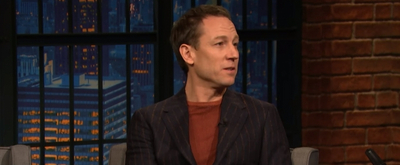 VIDEO: Tobias Menzies Talks About Being Roommates With Helena Bonham Carter on LATE NIGHT WITH SETH MEYERS