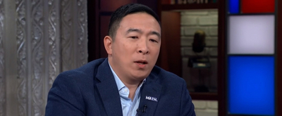 VIDEO: Watch Andrew Yang Interviewed on THE LATE SHOW WITH STEPHEN COLBERT!