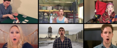VIDEO: Josh Lamon, Ben Fankhauser and More Give LES MISERABLES An Isolation Twist
