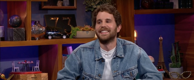 VIDEO: Ben Platt Talks DEAR EVAN HANSEN Movie on LATE LATE SHOW Video