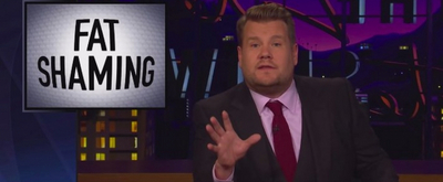 VIDEO: Watch James Corden Respond to Bill Maher's Fat Shaming Comments