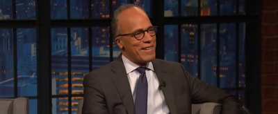 VIDEO: Lester Holt Says All Bets Are off in the Trump Impeachment Trial on LATE NIGHT