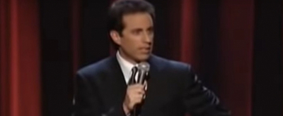 VIDEO: On This Day, August 5 - Jerry Seinfeld Makes Broadway Laugh with I'M TELLING Y Video