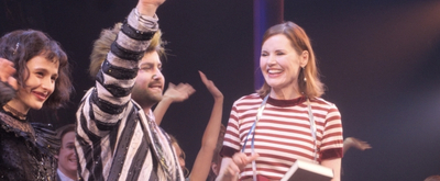 BWW TV: Watch Original BEETLEJUICE Star Geena Davis Stop By the Winter Garden!
