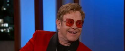VIDEO: Elton John Talks About Letting Stevie Wonder Drive His Snowmobile on JIMMY KIMMEL LIVE!