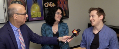 BWW TV: Ethan Slater and Tina Landau Get Ready for Nickelodeon's Bikini Bottom Broadcast!