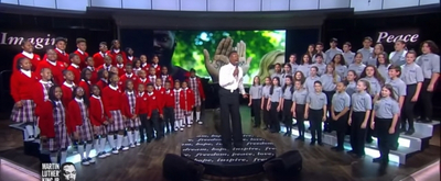 VIDEO: Billy Porter Joins Children's Choirs For Martin Luther King Day Tribute on THE VIEW
