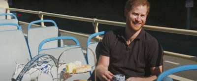 VIDEO: James Corden Spends the Day With Prince Harry