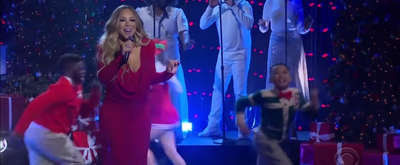 VIDEO: Watch Mariah Carey Perform 'Oh Santa' on THE LATE LATE SHOW