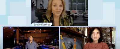 VIDEO: Renee Fleming, Mickey Hart, and Zakir Hussain Perform 'Open Eyes'