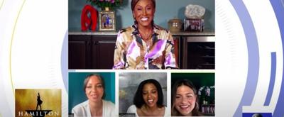 VIDEO: Renee Elise Goldsberry, Phillipa Soo and Jasmine Cephas Jones Talk HAMILTON on Video