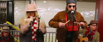 VIDEO: Alanis Morissette and Jimmy Fallon Perform in Disguise in NYC Subway