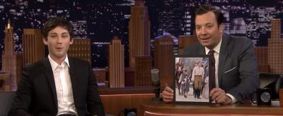 VIDEO: Logan Lerman Talks Co-Star Gifts on THE TONIGHT SHOW