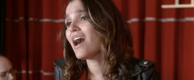 VIDEO: Samantha Barks Sings 'Safer' From FIRST DATE