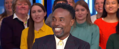 VIDEO: Billy Porter Talks About His GOLDEN GLOBES Look on GOOD MORNING AMERICA