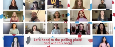 BWW TV: Watch Young Artists Unite to Sing 'Joy to the Polls'