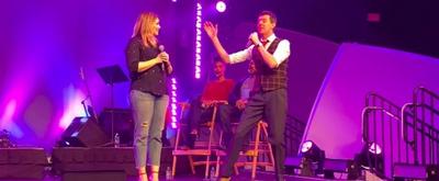 VIDEO: Gavin Lee and Heidi Blickenstaff Perform at Epcot International Festival of the Arts